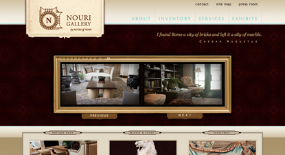 Nouri Gallery Website
