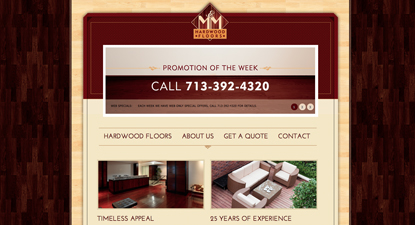 M & M Hardwood Floors Website