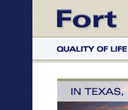 Fort Bend Website Concept
